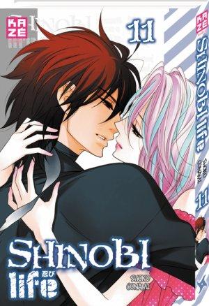 couverture, jaquette Shinobi Life 11  (kazé manga)
