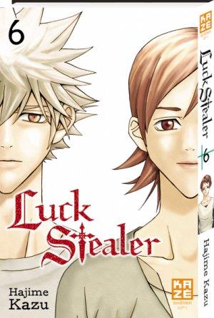 couverture, jaquette Luck Stealer 6  (kazé manga)