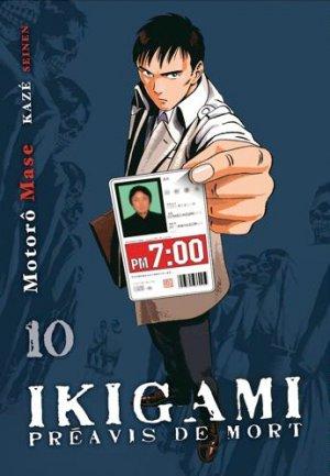 Ikigami - Préavis de Mort # 10 Simple