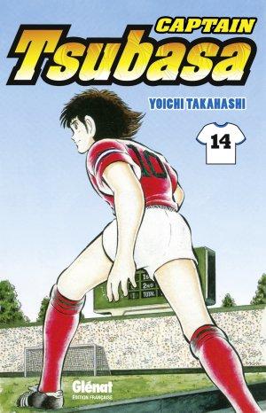 couverture, jaquette Captain Tsubasa 14 Réédition Française (Glénat Manga) Manga