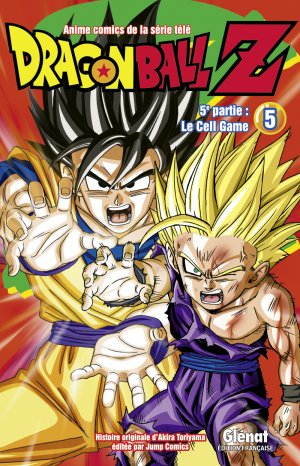 couverture, jaquette Dragon Ball Z - 5ème partie : Le Cell Game 5  (Glénat Manga) Anime comics