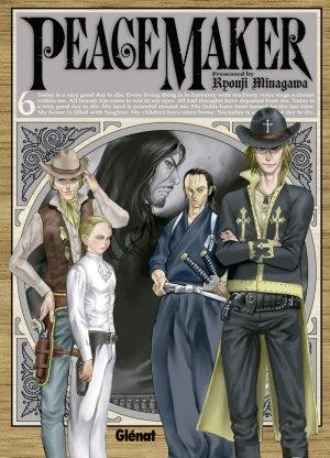couverture, jaquette PeaceMaker 6  (Glénat Manga)