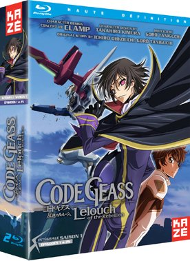 Code Geass - Lelouch of the Rebellion édition Blu-ray