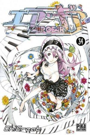 couverture, jaquette Air Gear 34  (Pika) Manga