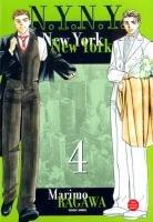 couverture, jaquette New York New York 4  (Panini manga)