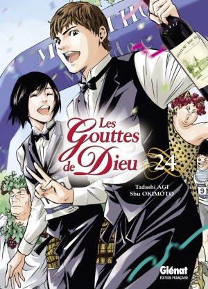 couverture, jaquette Les Gouttes de Dieu 24  (Glénat Manga)