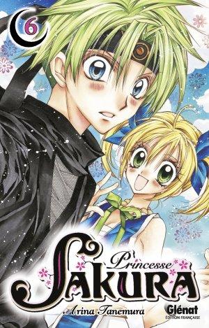 couverture, jaquette Princesse Sakura 6  (Glénat Manga)