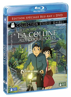 La colline aux coquelicots édition Combo DVD et Blu-Ray