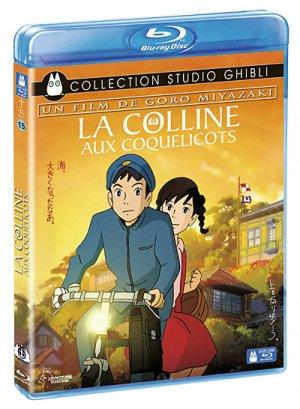 La colline aux coquelicots édition Blu-ray