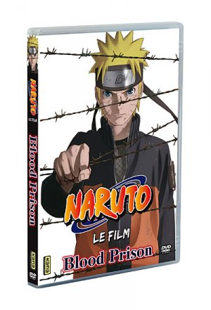Naruto Shippuden Film 5 - The Blood Prison édition DVD