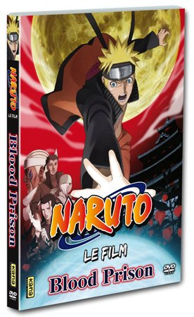 Naruto Shippuden Film 5 - The Blood Prison édition DVD Fan Edition