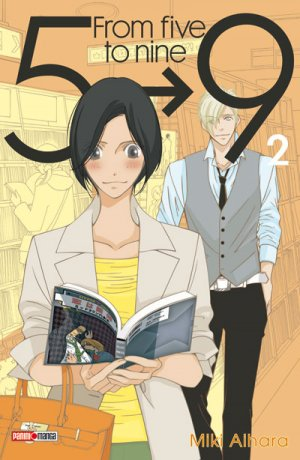 couverture, jaquette From 5 to 9 2  (Panini manga)