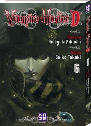 couverture, jaquette Vampire hunter D 6  (kazé manga)