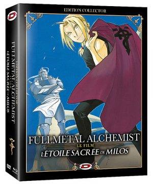 couverture, jaquette Fullmetal Alchemist - Film 2 - L'Etoile Sacrée de Milos  Collector (Dybex)
