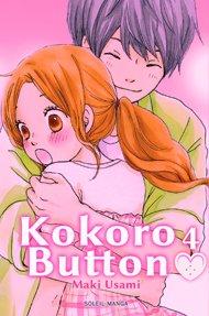 couverture, jaquette Kokoro Button 4  (soleil manga)