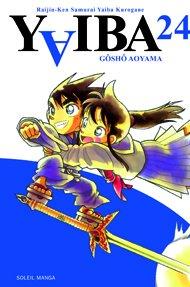 couverture, jaquette Yaiba 24  (soleil manga)