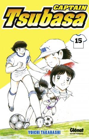 couverture, jaquette Captain Tsubasa 15 Réédition Française (Glénat Manga) Manga