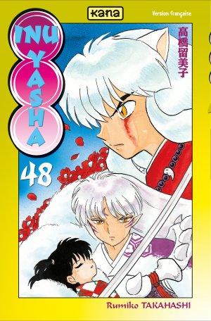 couverture, jaquette Inu Yasha 48  (kana)