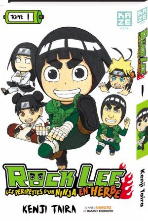 Rock Lee - Les péripéties d'un ninja en herbe T.1