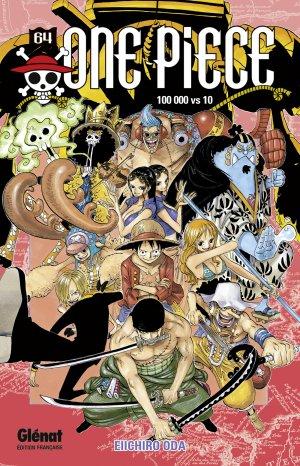 couverture, jaquette One Piece 64  (Glénat Manga)