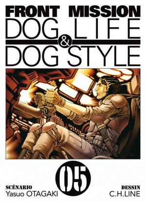 couverture, jaquette Front Mission Dog Life and Dog Style 5  (Ki-oon)