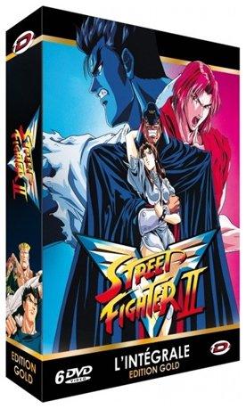 couverture, jaquette Street Fighter II V  Gold (Dybex)