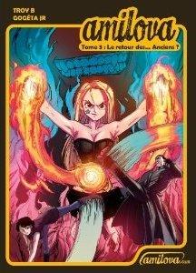 couverture, jaquette Amilova 3  (Amilova) Global manga