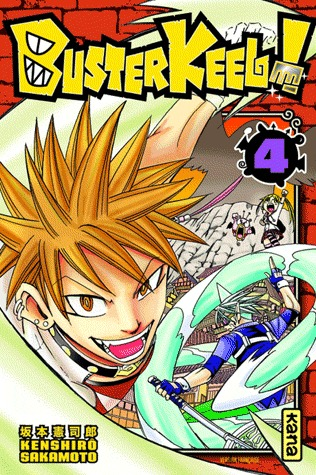 couverture, jaquette Buster Keel ! 4  (kana)