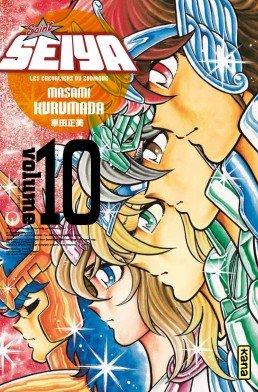 couverture, jaquette Saint Seiya - Les Chevaliers du Zodiaque 10 Deluxe Française (kana)