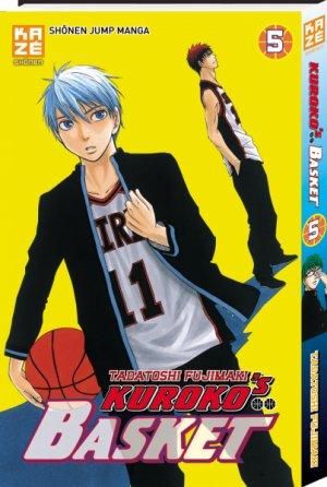couverture, jaquette Kuroko's Basket 5  (kazé manga) Manga
