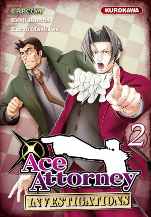 Ace Attorney Investigations T.2