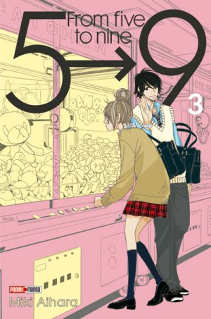 couverture, jaquette From 5 to 9 3  (Panini manga)