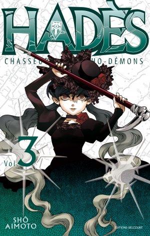couverture, jaquette Hadès 3  (Delcourt Manga)