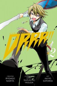 couverture, jaquette Durarara!! 2 Américaine (Yen Press) Manga