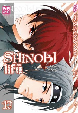 couverture, jaquette Shinobi Life 12  (kazé manga)