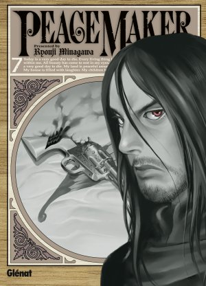 couverture, jaquette PeaceMaker 7  (Glénat Manga)