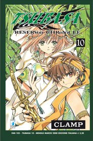 couverture, jaquette Tsubasa Reservoir Chronicle 10 Italienne (Star Comics)