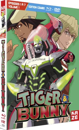 Tiger and Bunny édition Combo DVD + Blu-ray