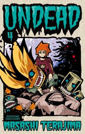 couverture, jaquette Undead 4  (Delcourt Manga)