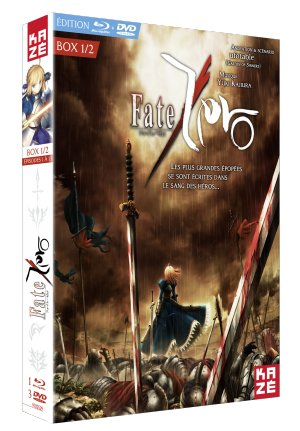 Fate/Zero édition Combo DVD + Blu-ray