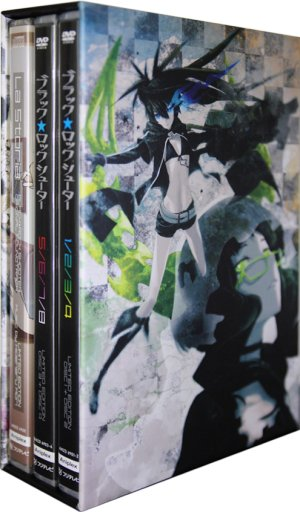 BLACK ROCK SHOOTER édition Intégrale Collector