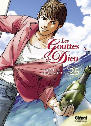 couverture, jaquette Les Gouttes de Dieu 25  (Glénat Manga)