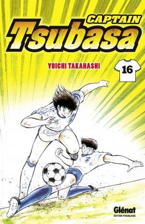 couverture, jaquette Captain Tsubasa 16 Réédition Française (Glénat Manga) Manga