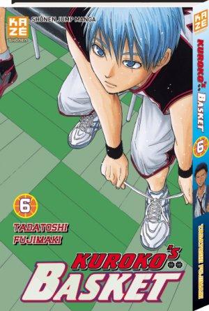 couverture, jaquette Kuroko's Basket 6  (kazé manga)