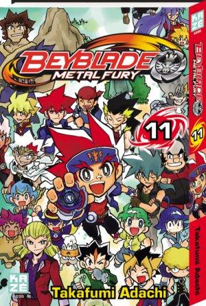 Beyblade Metal Fusion/Masters/Fury # 11