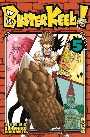 couverture, jaquette Buster Keel ! 5  (kana) Manga