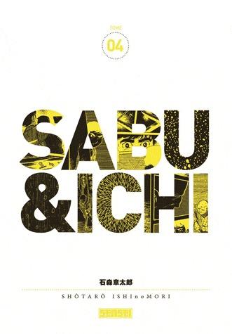 couverture, jaquette Sabu et Ichi 4  (kana)