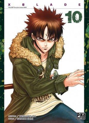 couverture, jaquette X Blade 10  (Pika) Manga