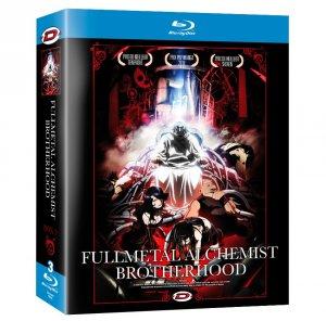 couverture, jaquette Fullmetal Alchemist Brotherhood 3 Blu-ray (Dybex)