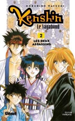 couverture, jaquette Kenshin le Vagabond 2  (Glénat Manga) Manga